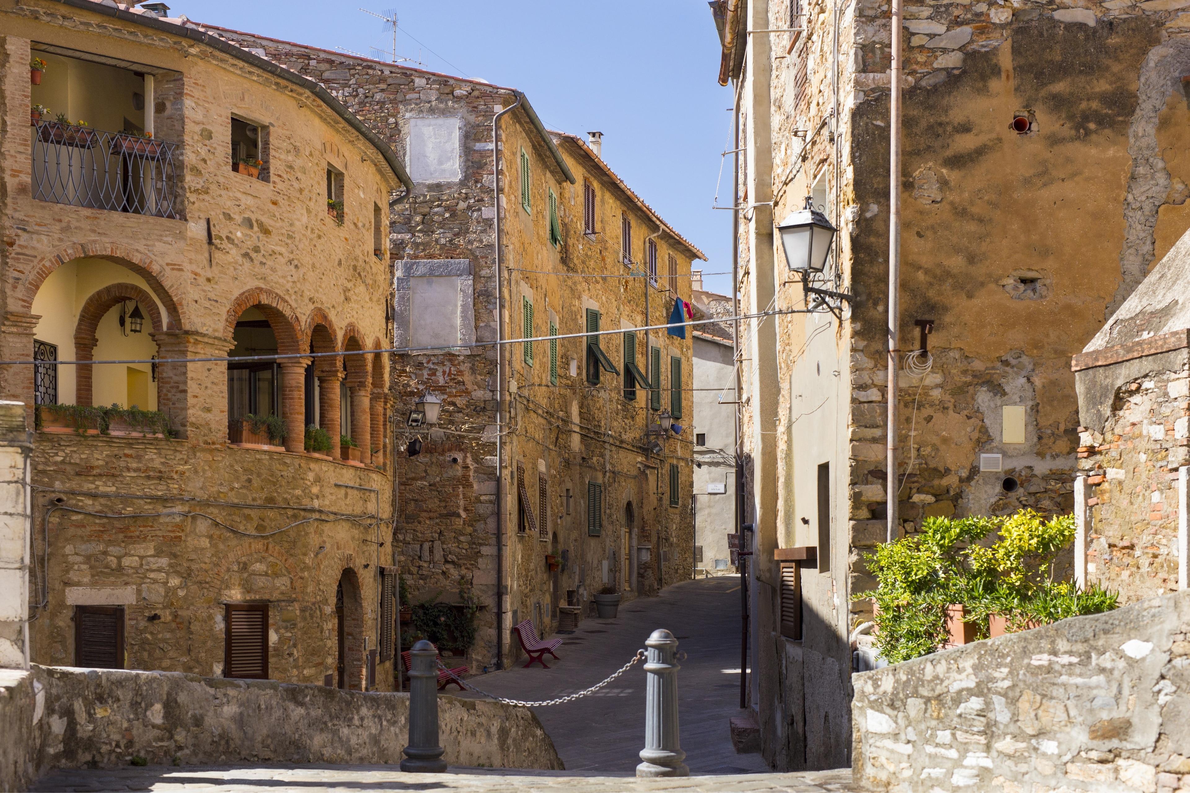 Campiglia Marittima, Toskana, Italien