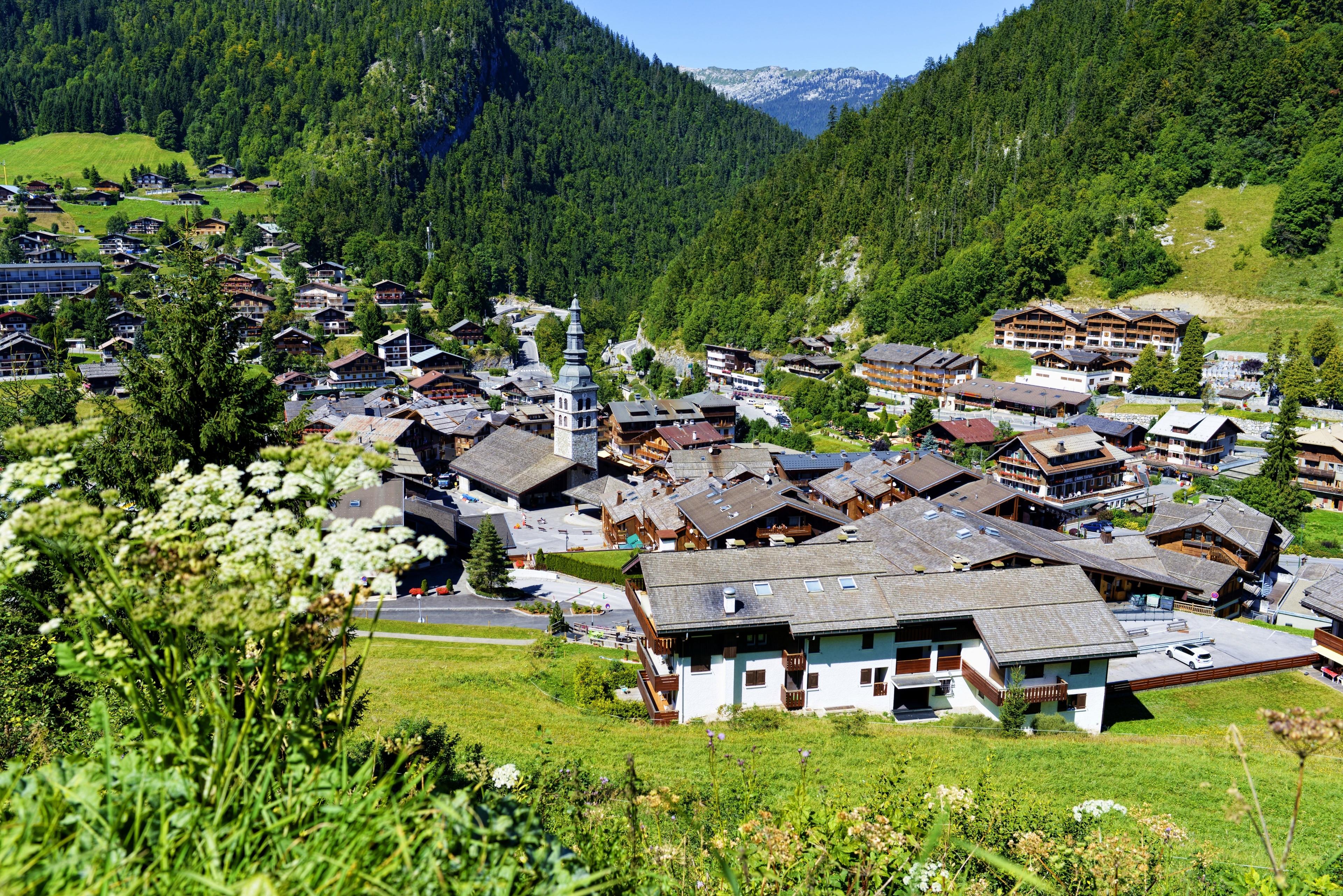 Estación de esquí de La Clusaz, La Clusaz, Alta Saboya (departamento), Francia