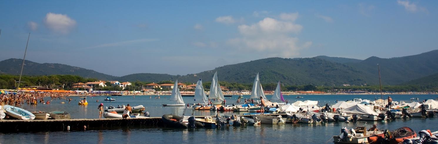 Marina di Campo, Italien