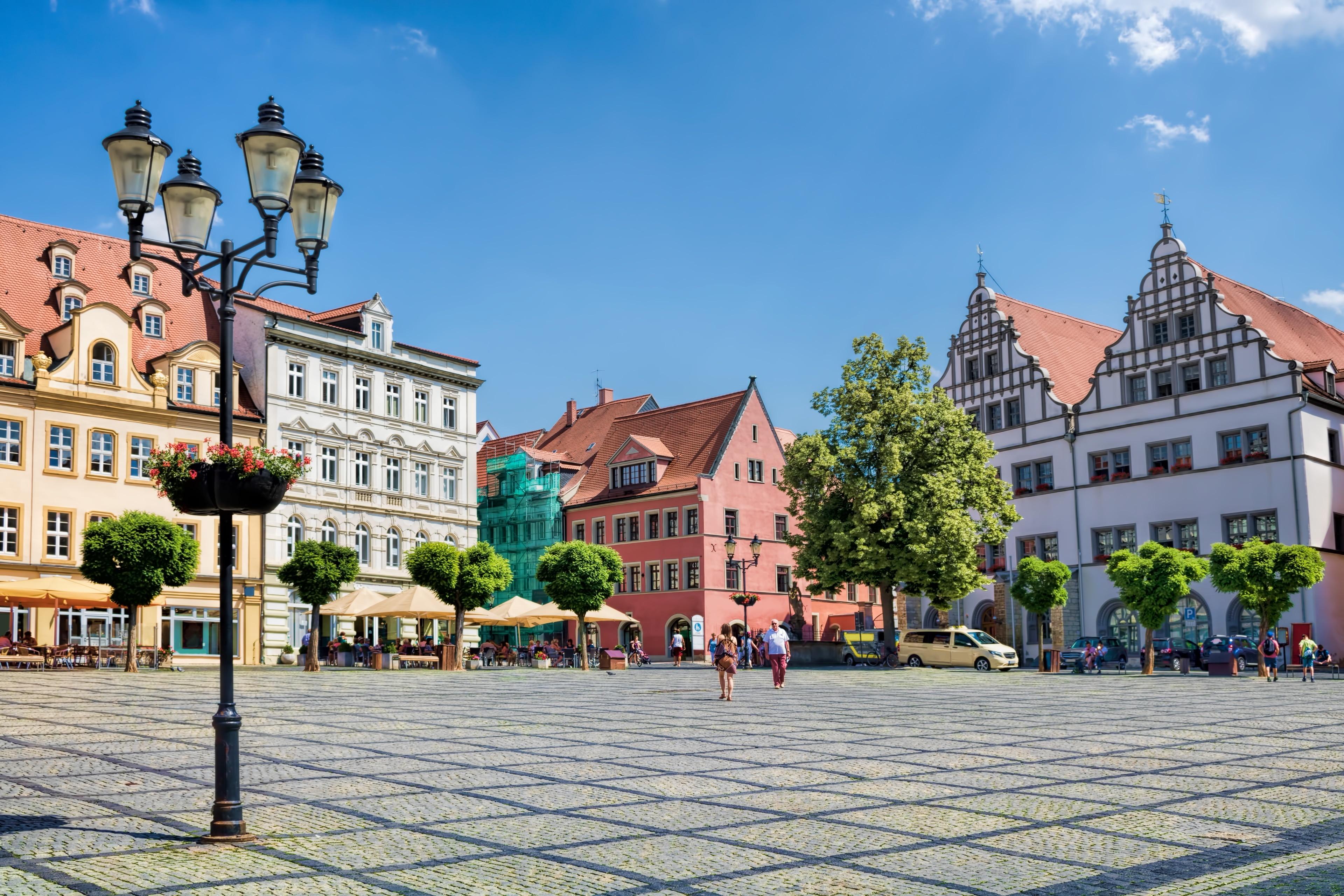 Burgenlandkreis, Saxen-Anhalt, Tyskland