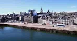 Hafen von Aberdeen