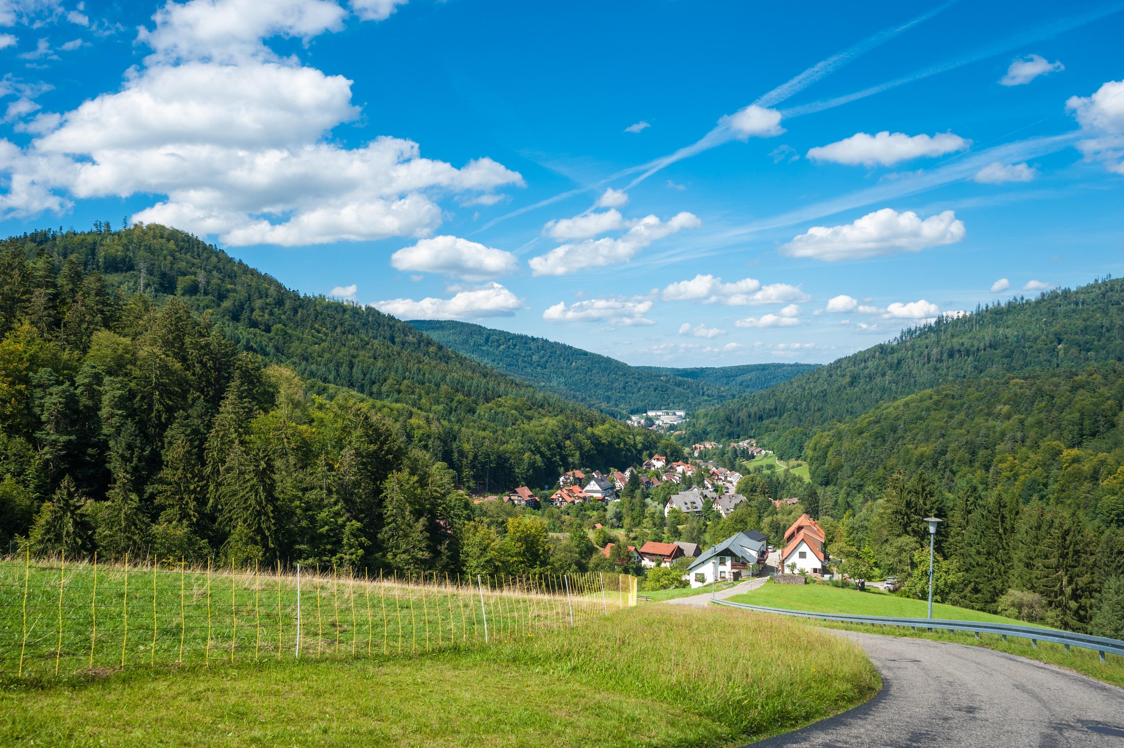 Bad Herrenalb, Baden-Wuerttemberg, Duitsland