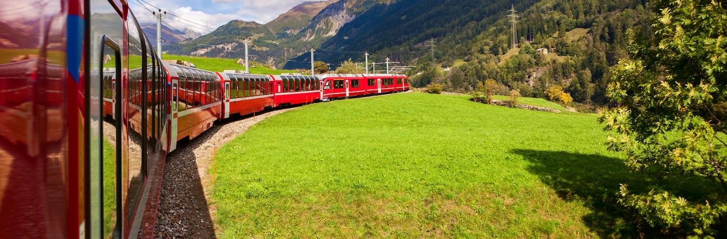Ospizio Bernina, Svájc