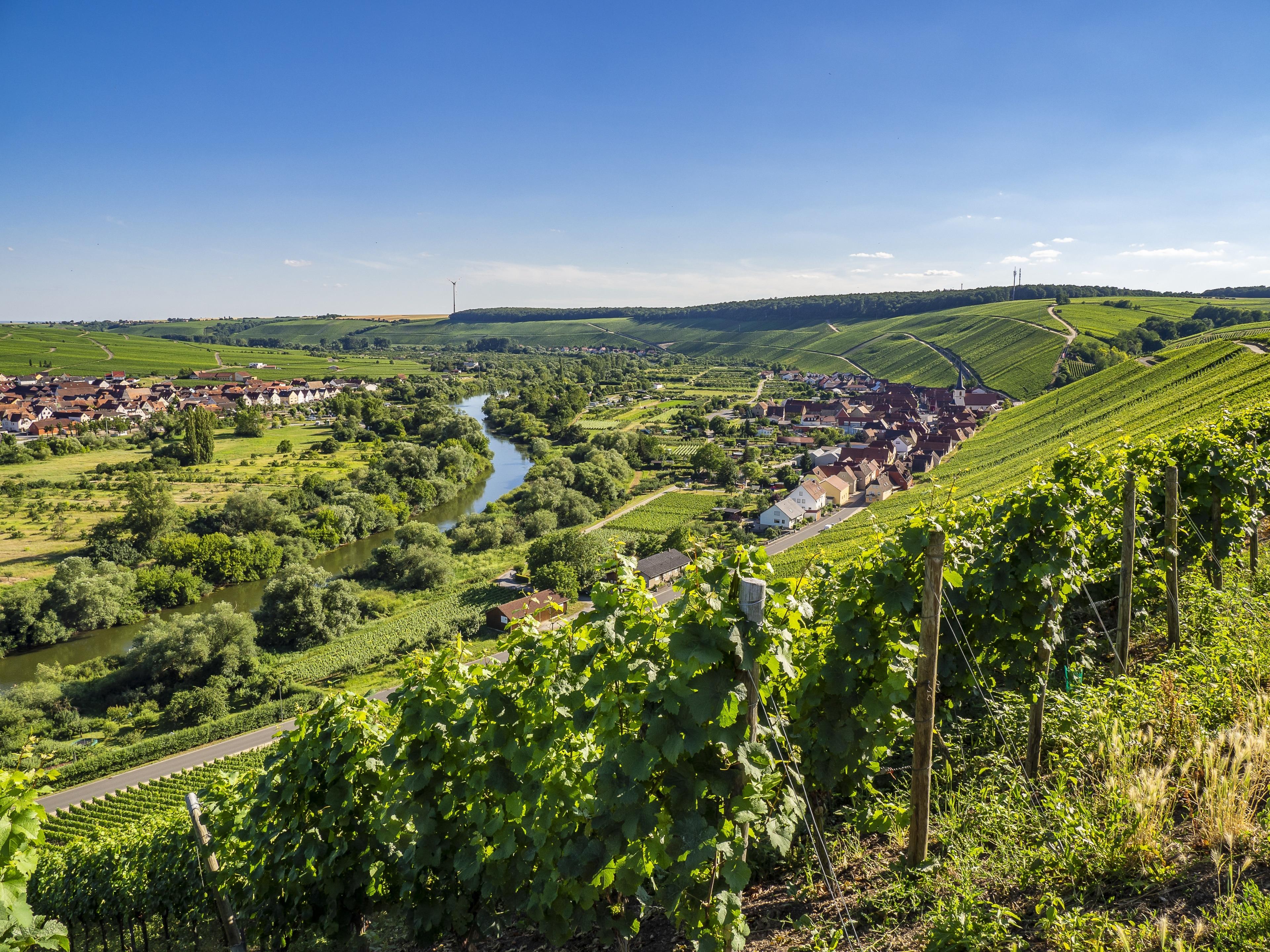 Volkach, Bayern, Deutschland