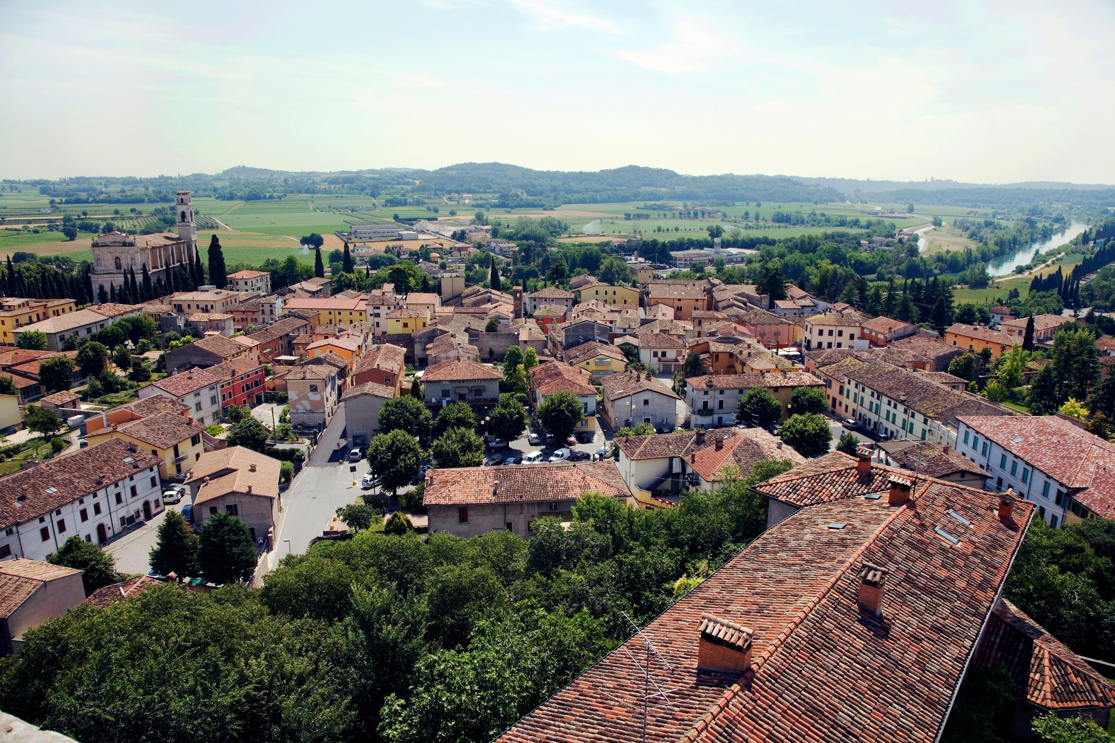 Monzambano, Lombardije, Italië