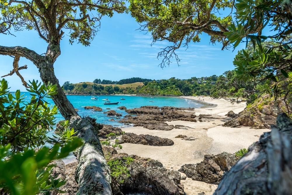Oneroa Bay, Auckland Region, Neuseeland