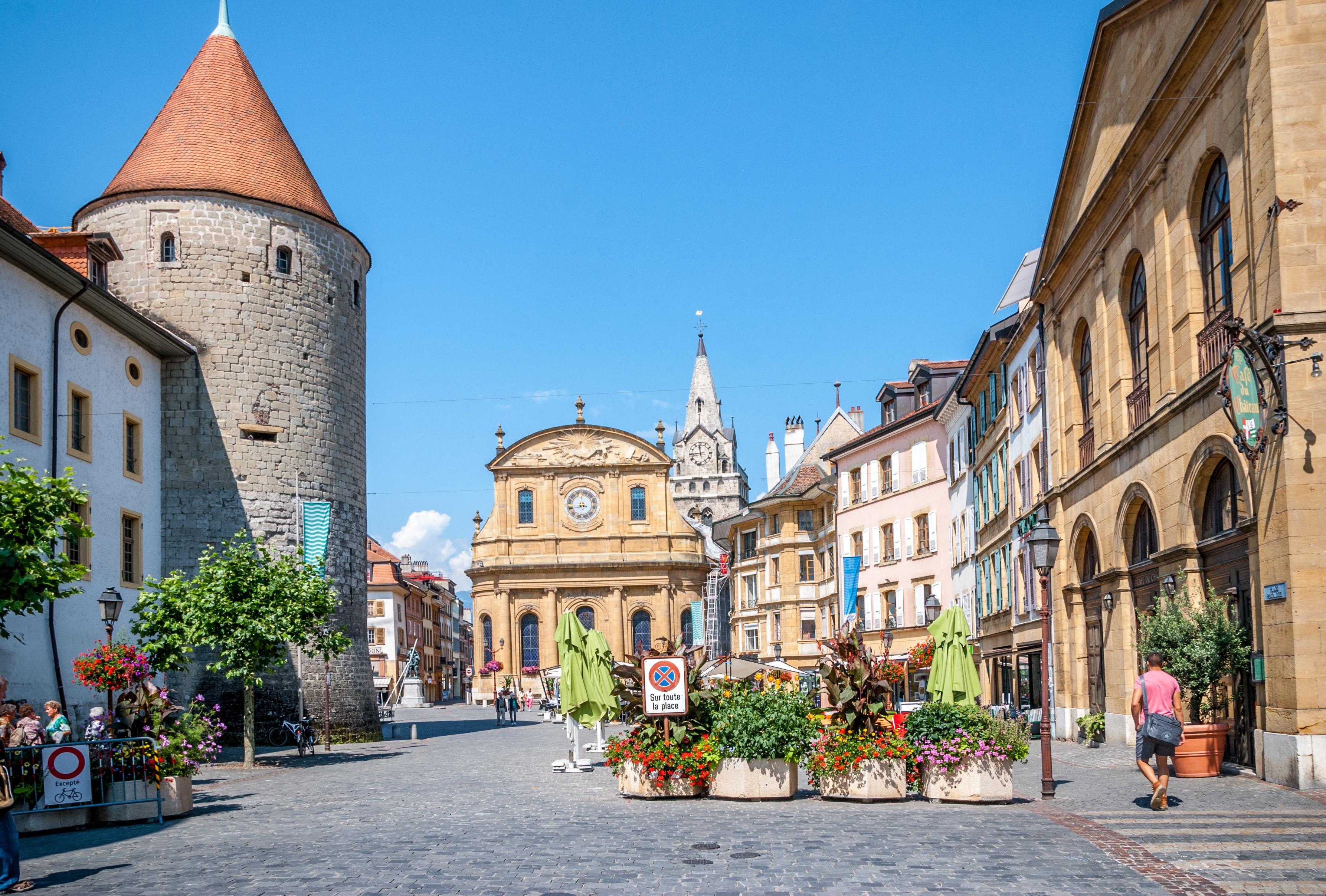 Yverdon-les-Bains, Canton of Vaud, Switzerland