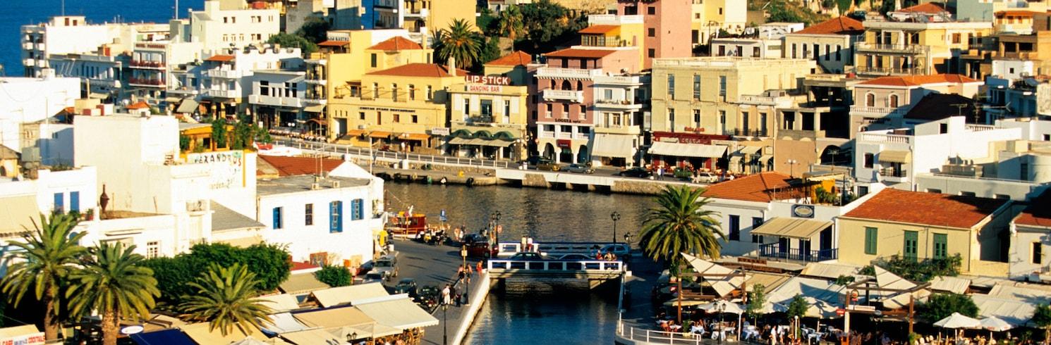 Ville d'Agios Nikolaos, Grèce