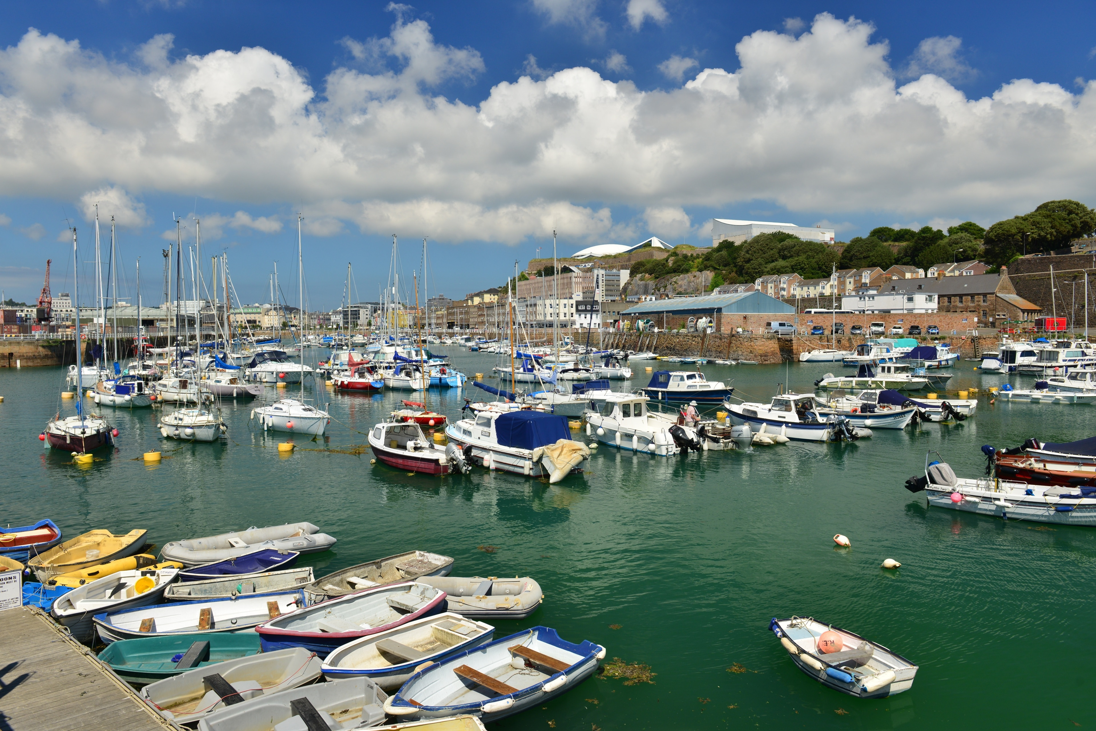 Explore the waterfront in St. Helier with a trip to Port of Jersey. Visit the area's spas or amble around its beautiful beaches.