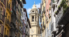 Centro de la ciudad de Pamplona