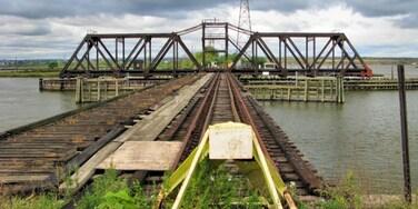 Hackensack River Waterfront, Jersey City, New Jersey, Estados Unidos
