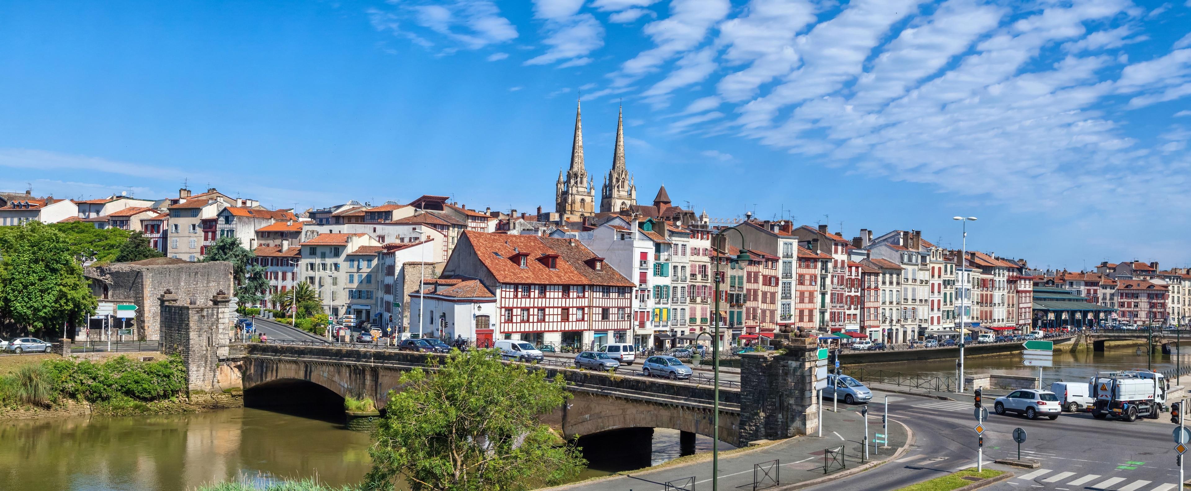Bayonne, Département Pyrénées-Atlantiques, Frankreich