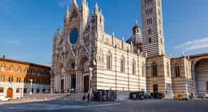 Stadtzentrum von Siena