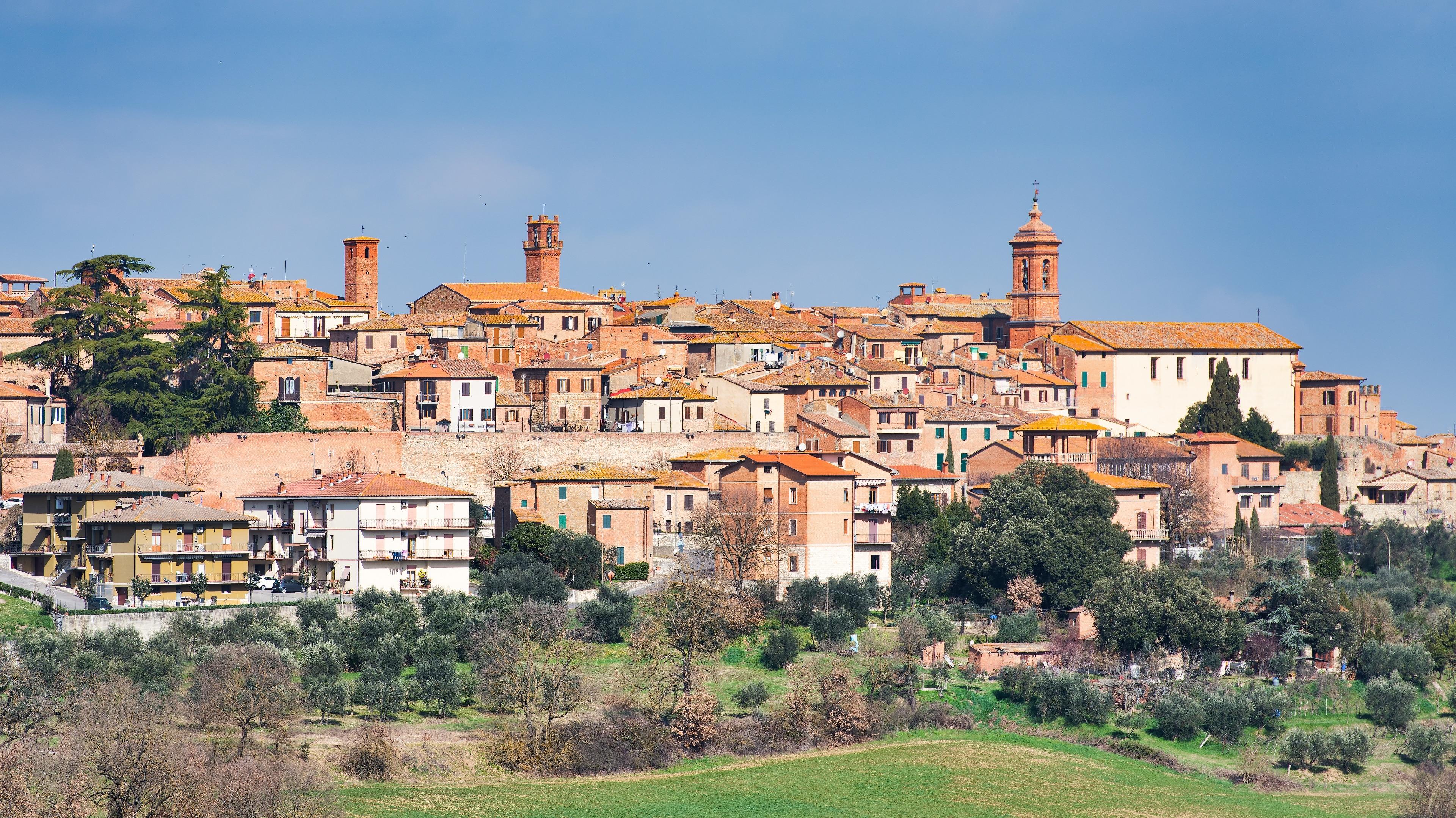 Torrita di Siena, Toskana, Italien
