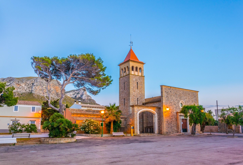 Colònia de Sant Pere, Artà, Balearene, Spania