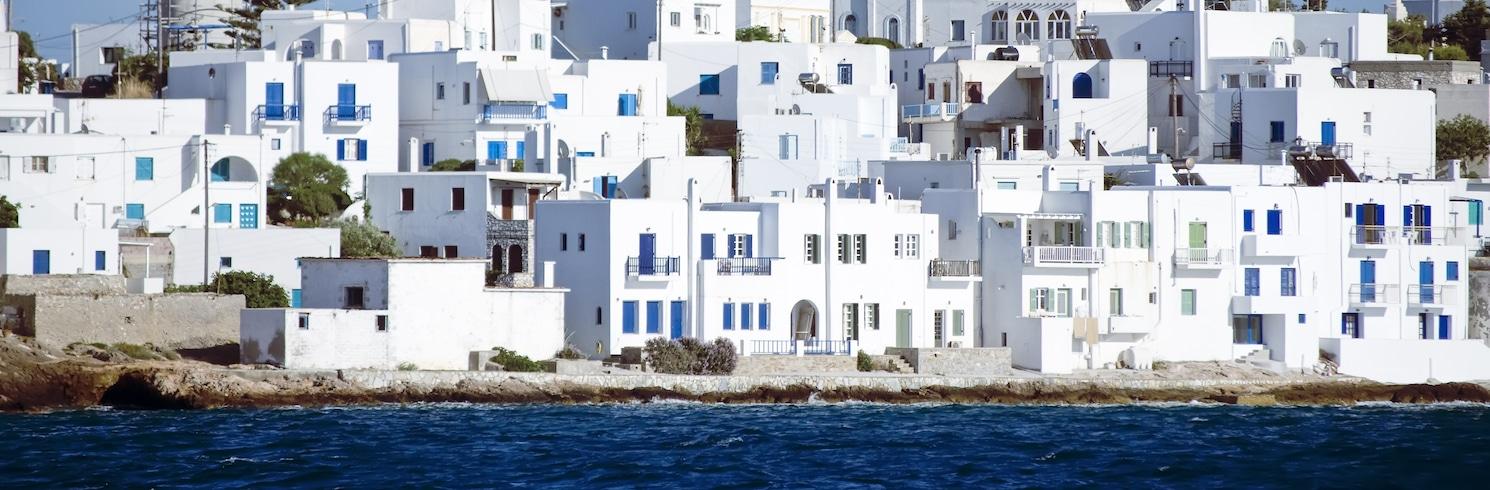 納烏沙, 希臘