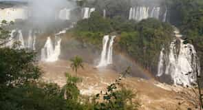 Entrance to the Iguassu Falls
