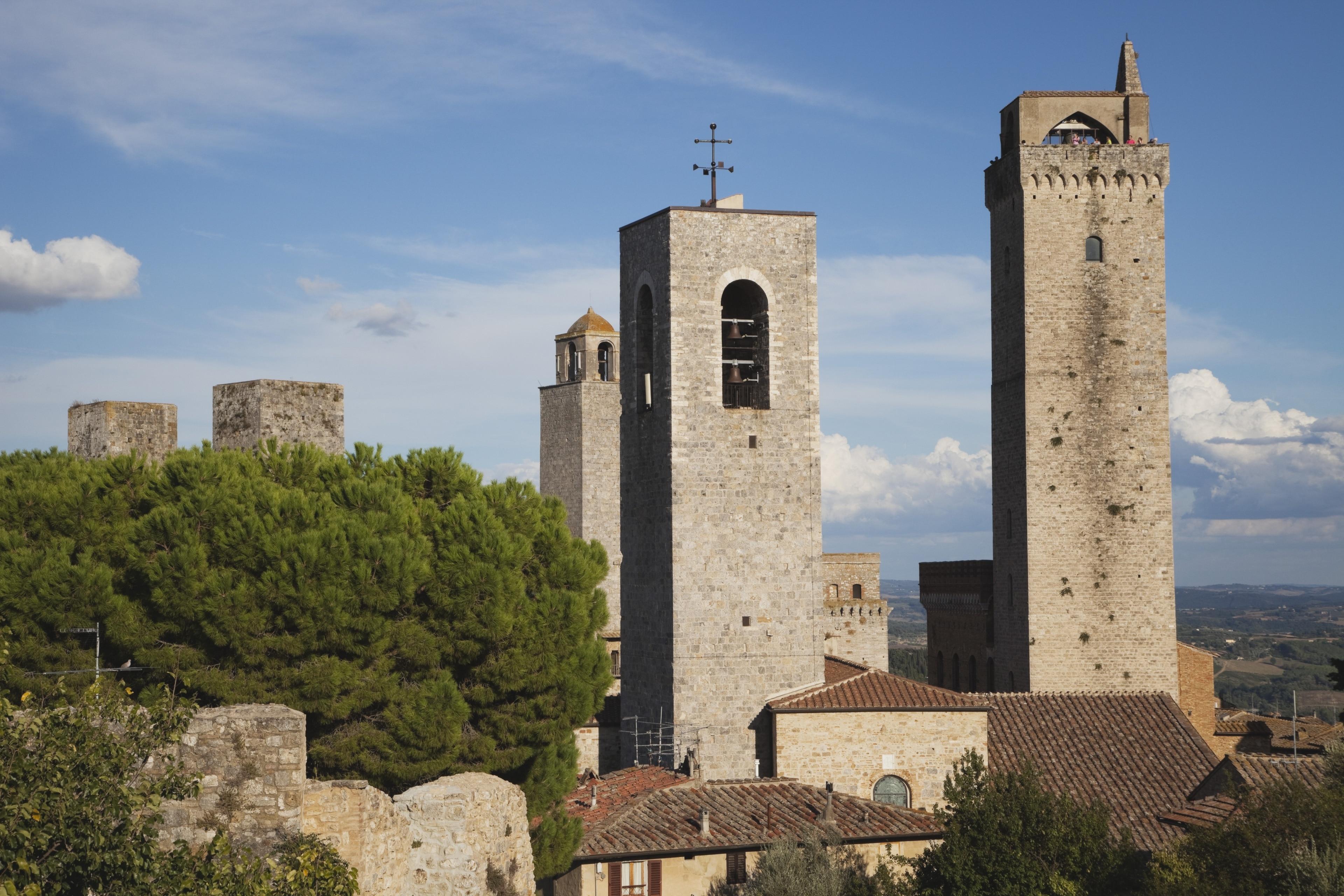 San Gimignano Communal Palace, San Gimignano, Toskana, Italien