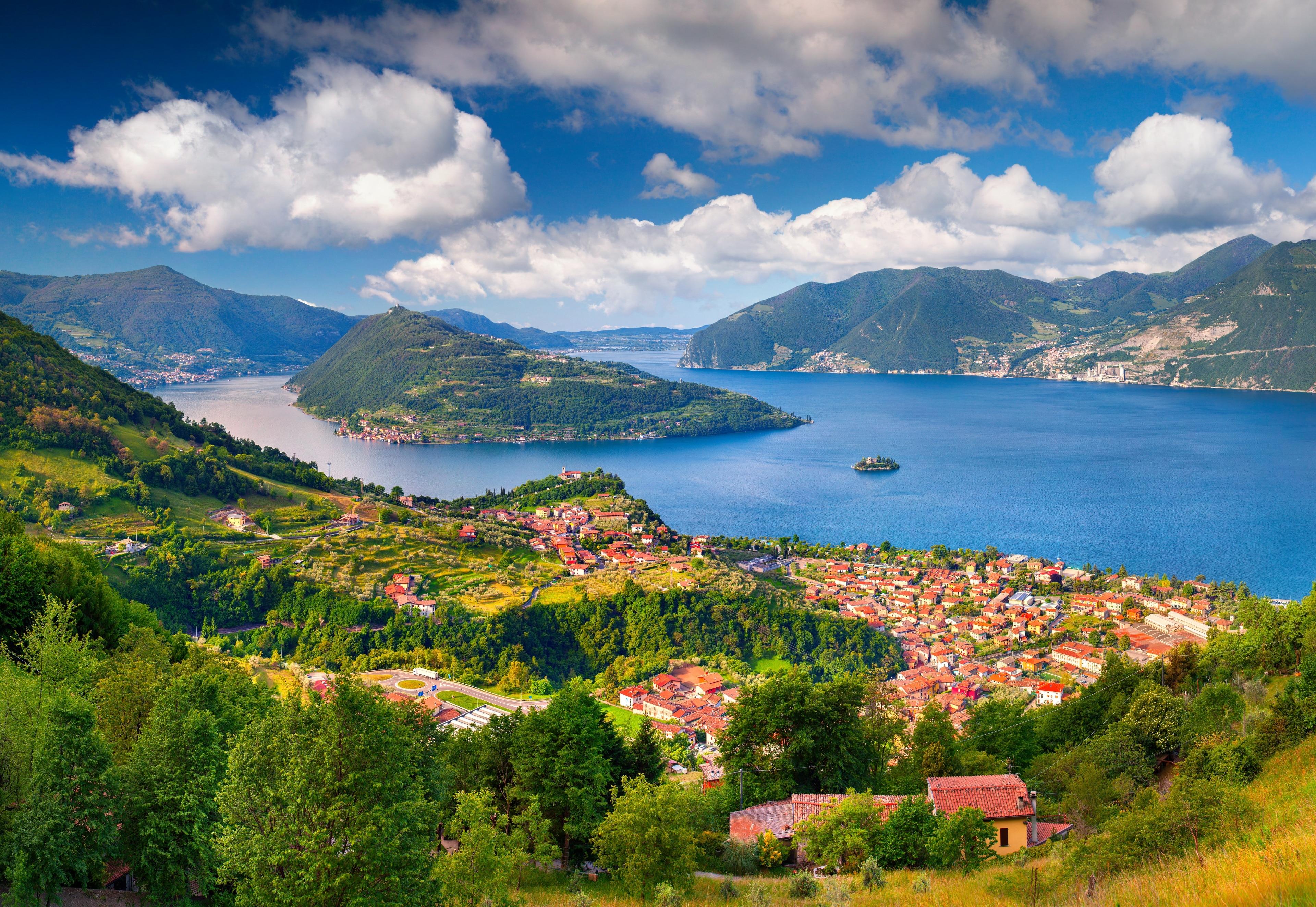 Lake Iseo, Lombardy, Italy
