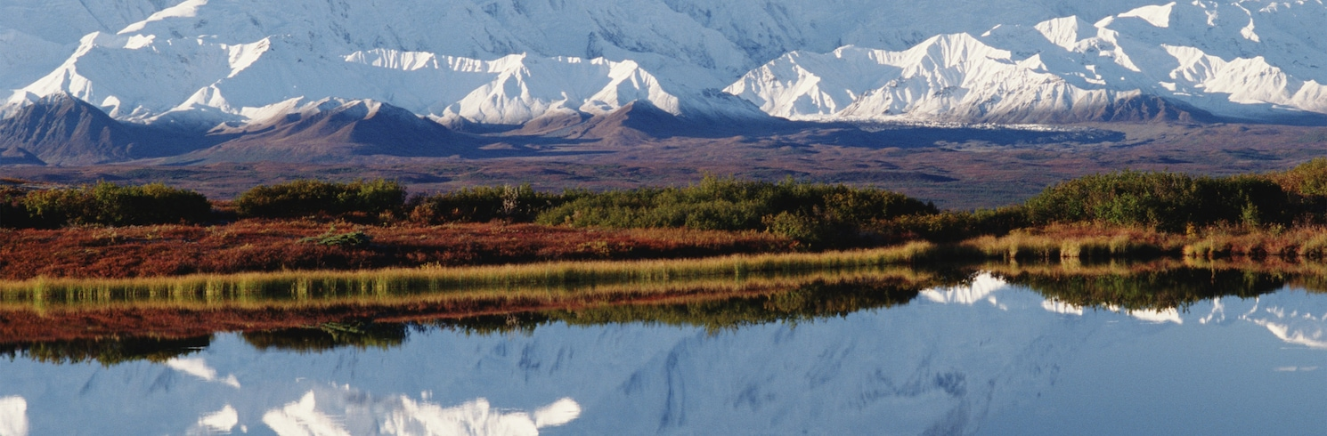 Denali (und Umgebung), Alaska, USA