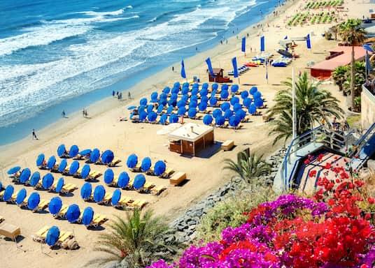 Playa del Ingles, Spain