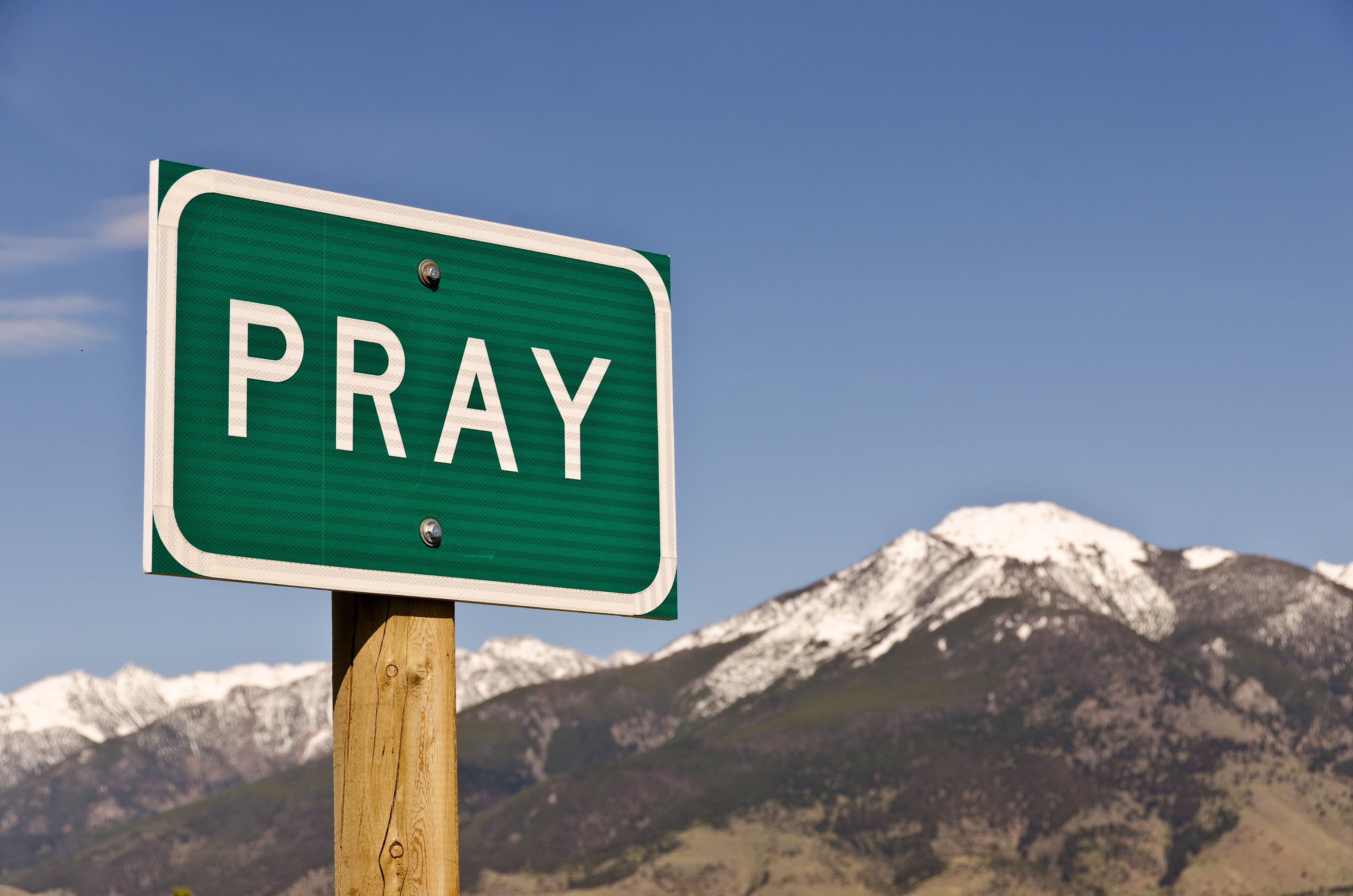 Pray, Montana, USA