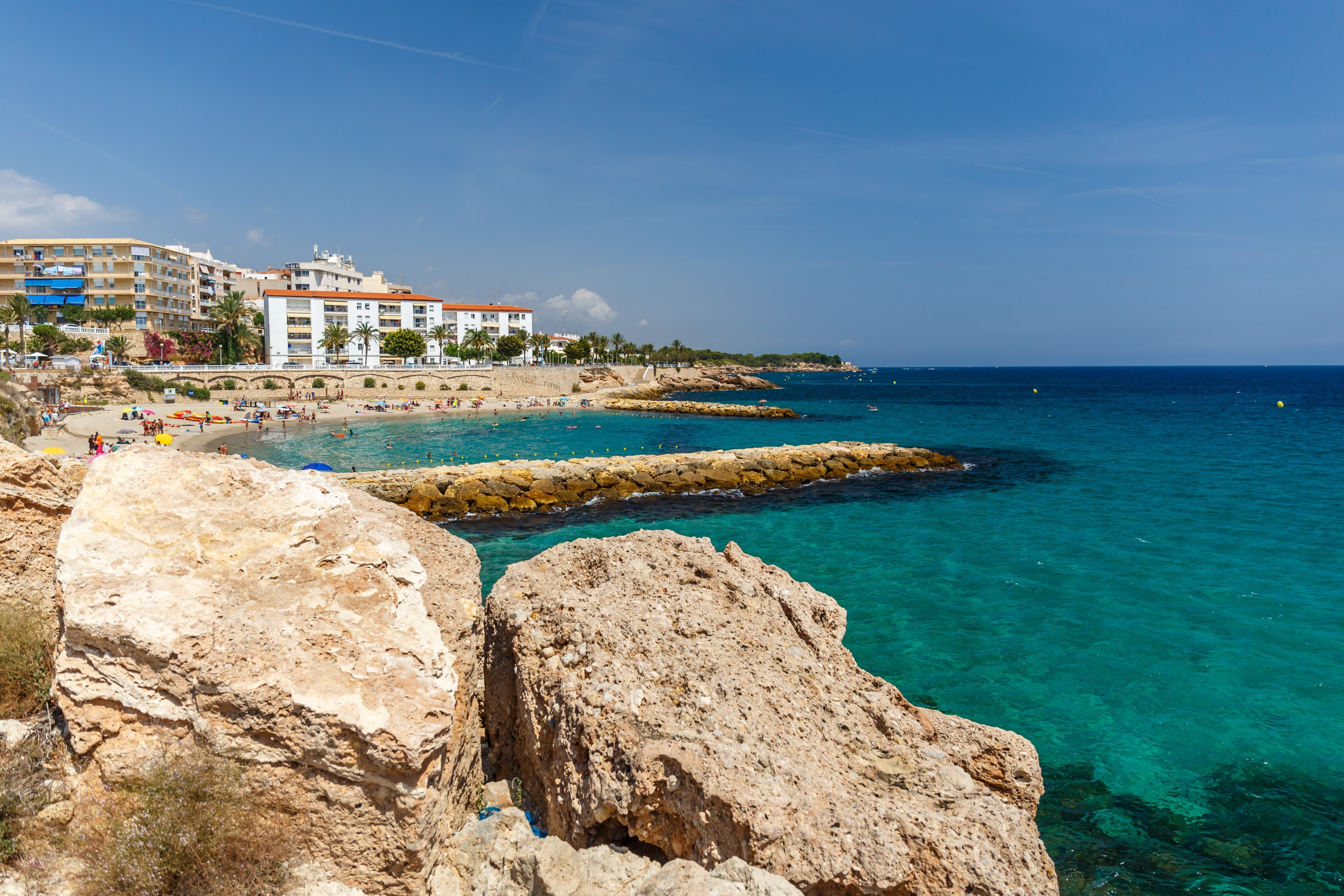 L'Ametlla de Mar, Katalonien, Spanien