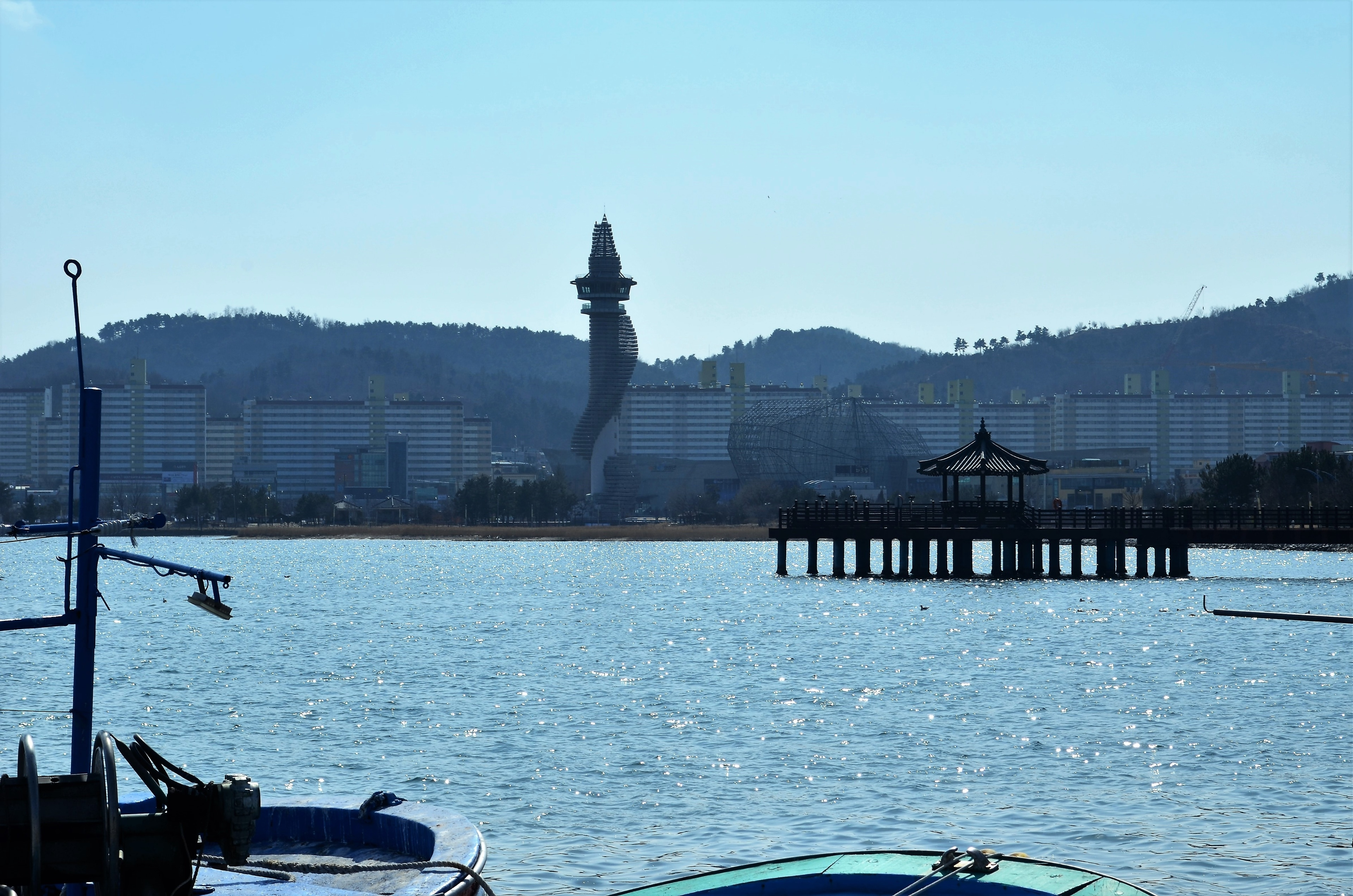 Find out about the history of Sokcho when you take a trip to Sokcho Expo Tower. Wander the seaside and parks in the area.
