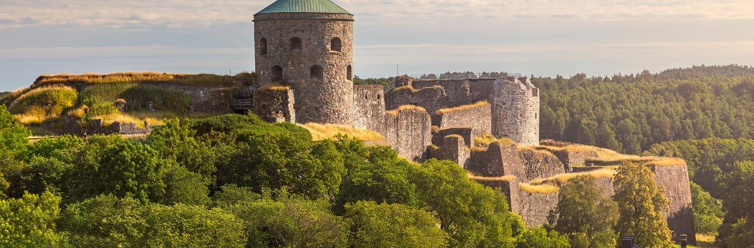 Kungälv Centrala, Švédsko