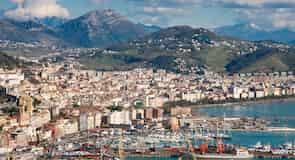 Salerno historiske sentrum