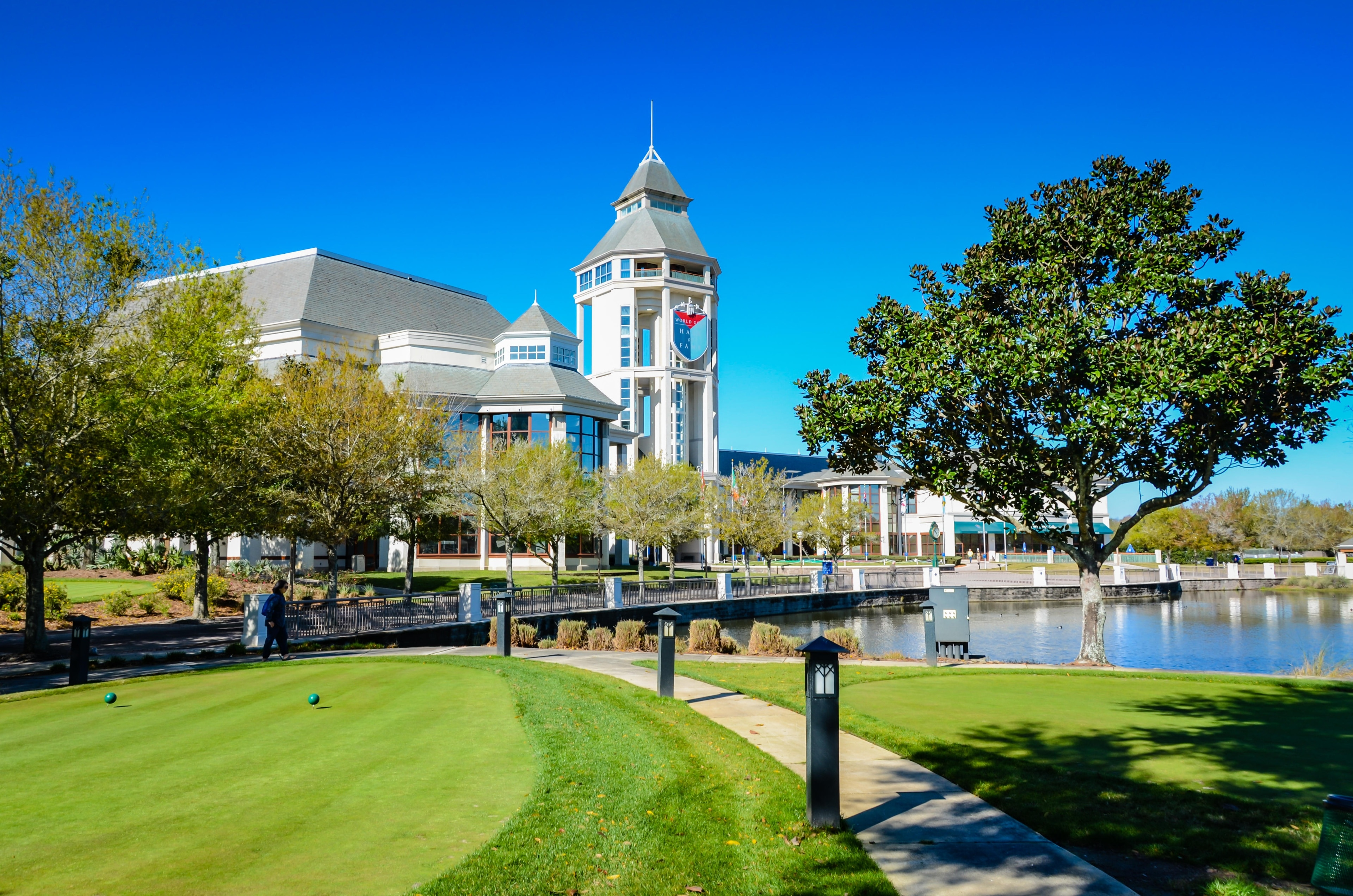 Enjoy a round of golf in St. Augustine at World Golf Village. Amble around this quaint area's beautiful beaches or attend a sporting event.