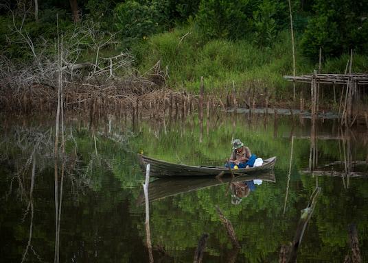 北幹巴魯, 印尼