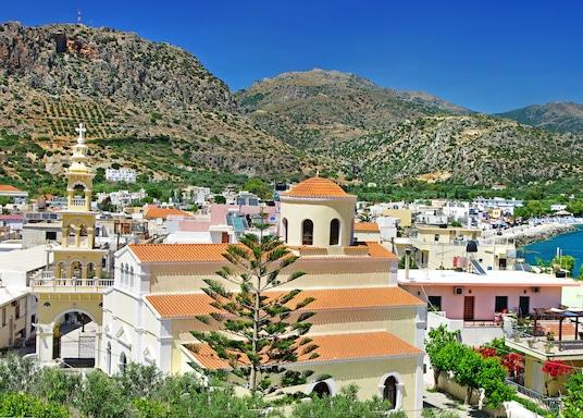 Pachia Rachi, Grčka