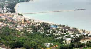 Dadonghai  Pláž