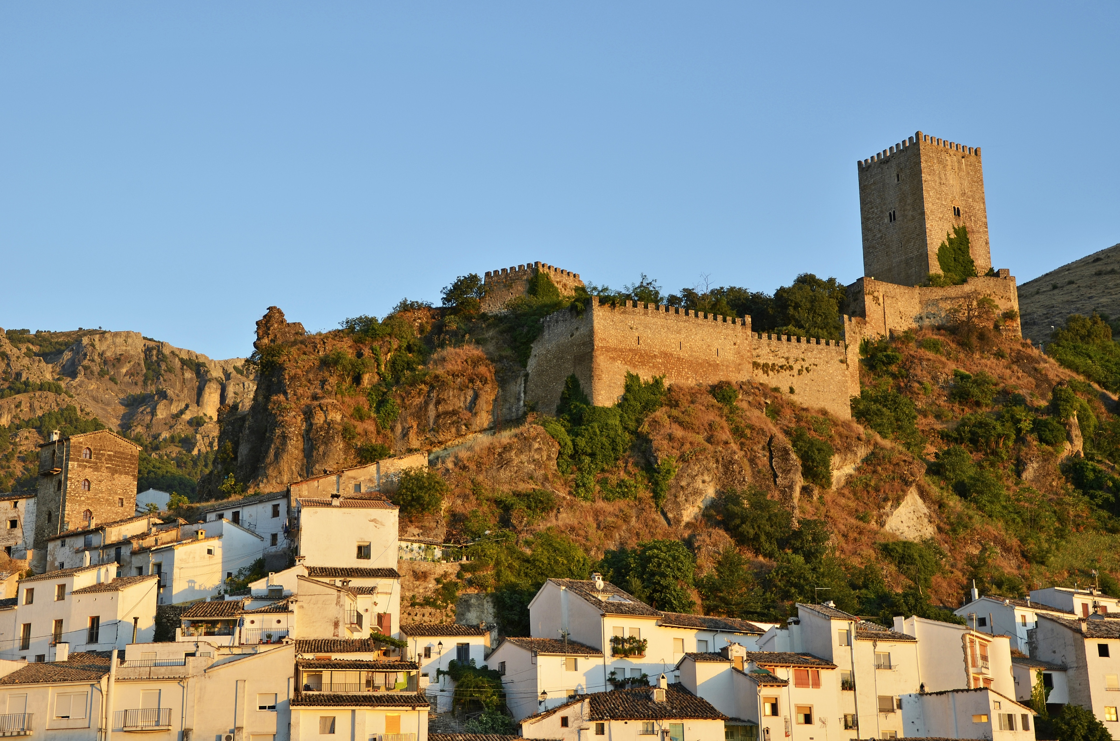 Castillo de la Yedra, Cazorla, Andalusië, Spanje
