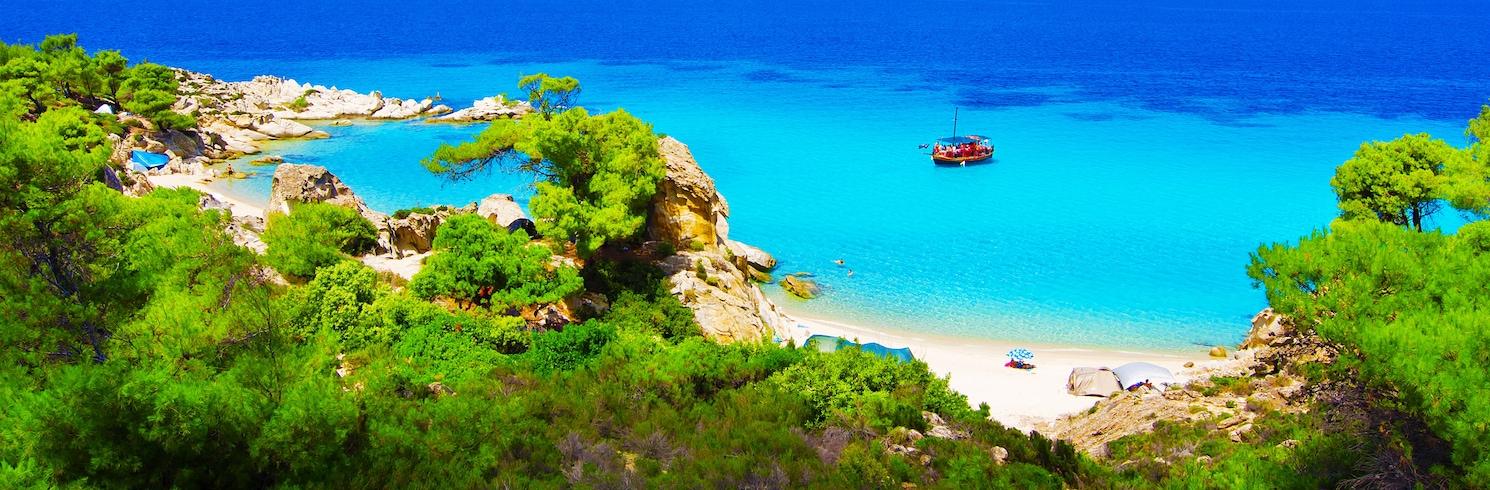 Полигирос, Греция