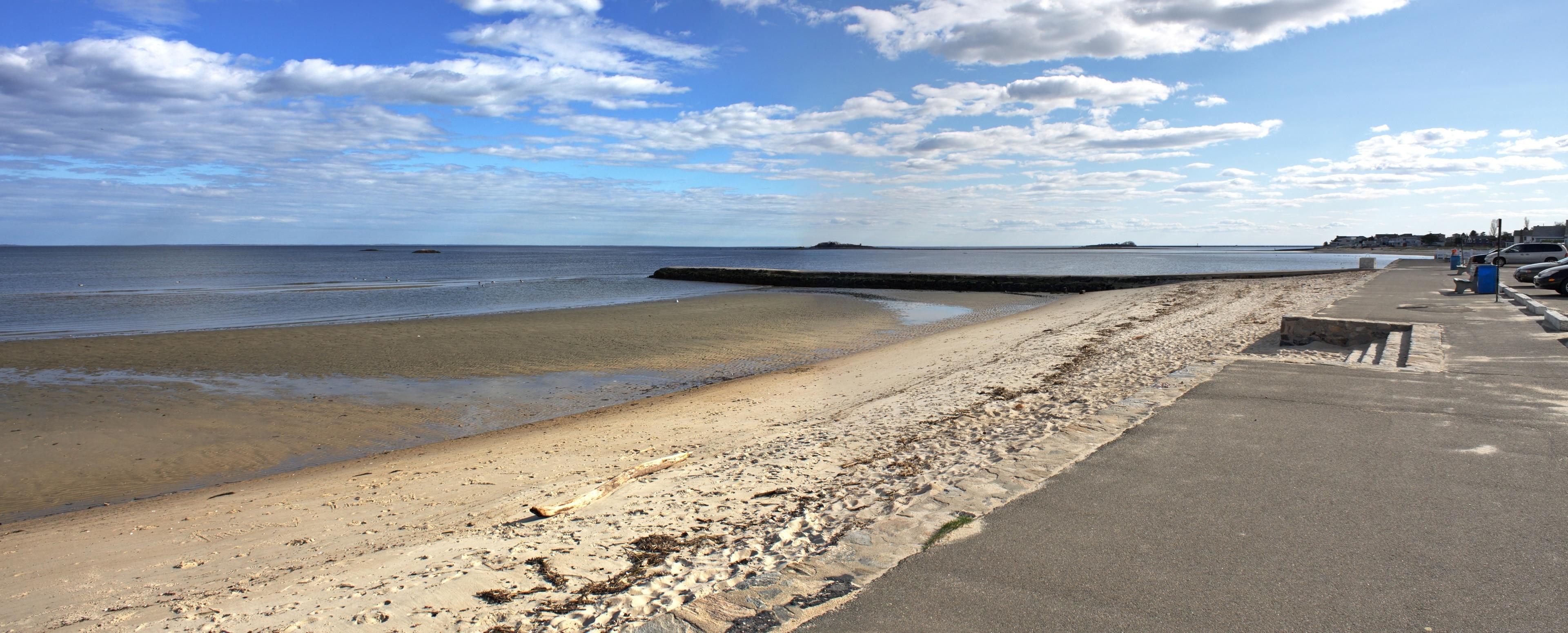 West Bay Beach, Bridport, England, United Kingdom