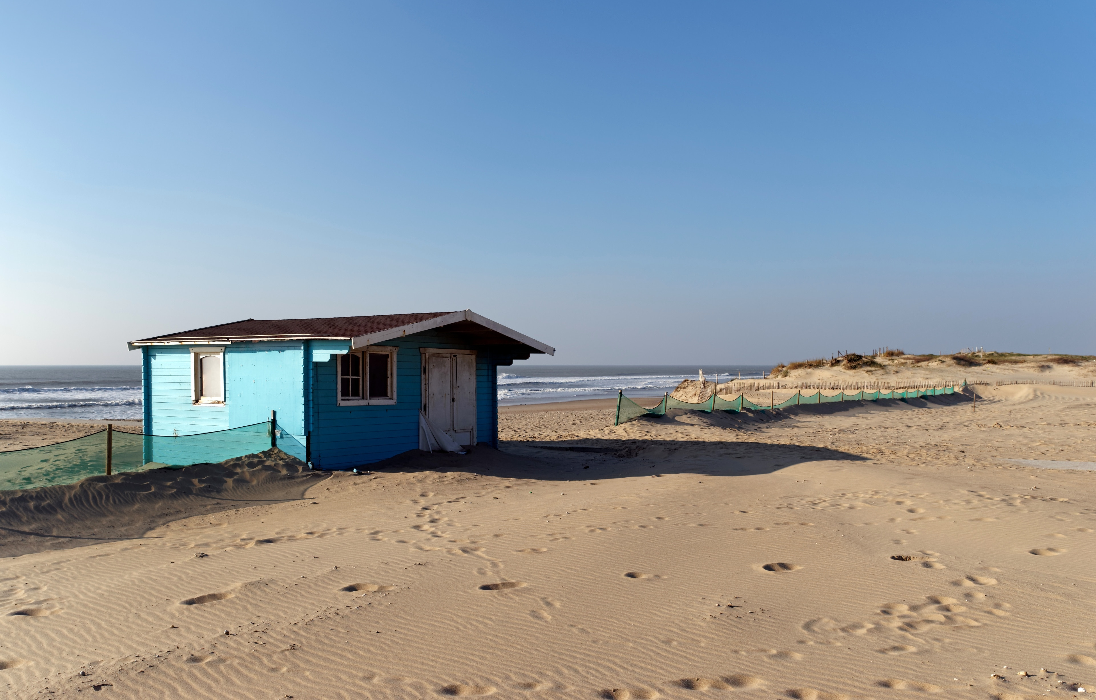 Playa de Hourtin, Francia