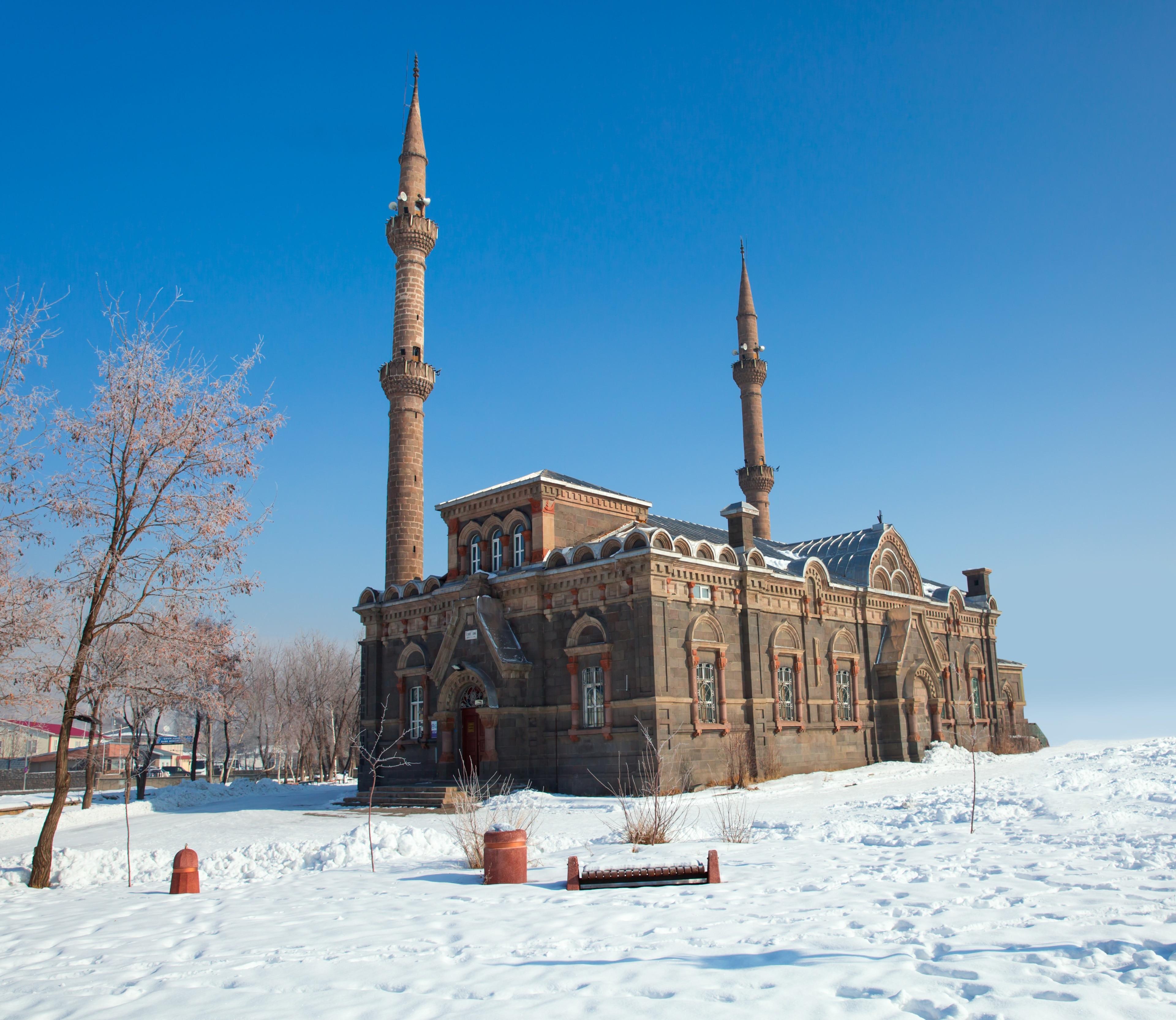 Moschee Yeni Hamidiye Cami, Fethiye, Muğla, Türkei