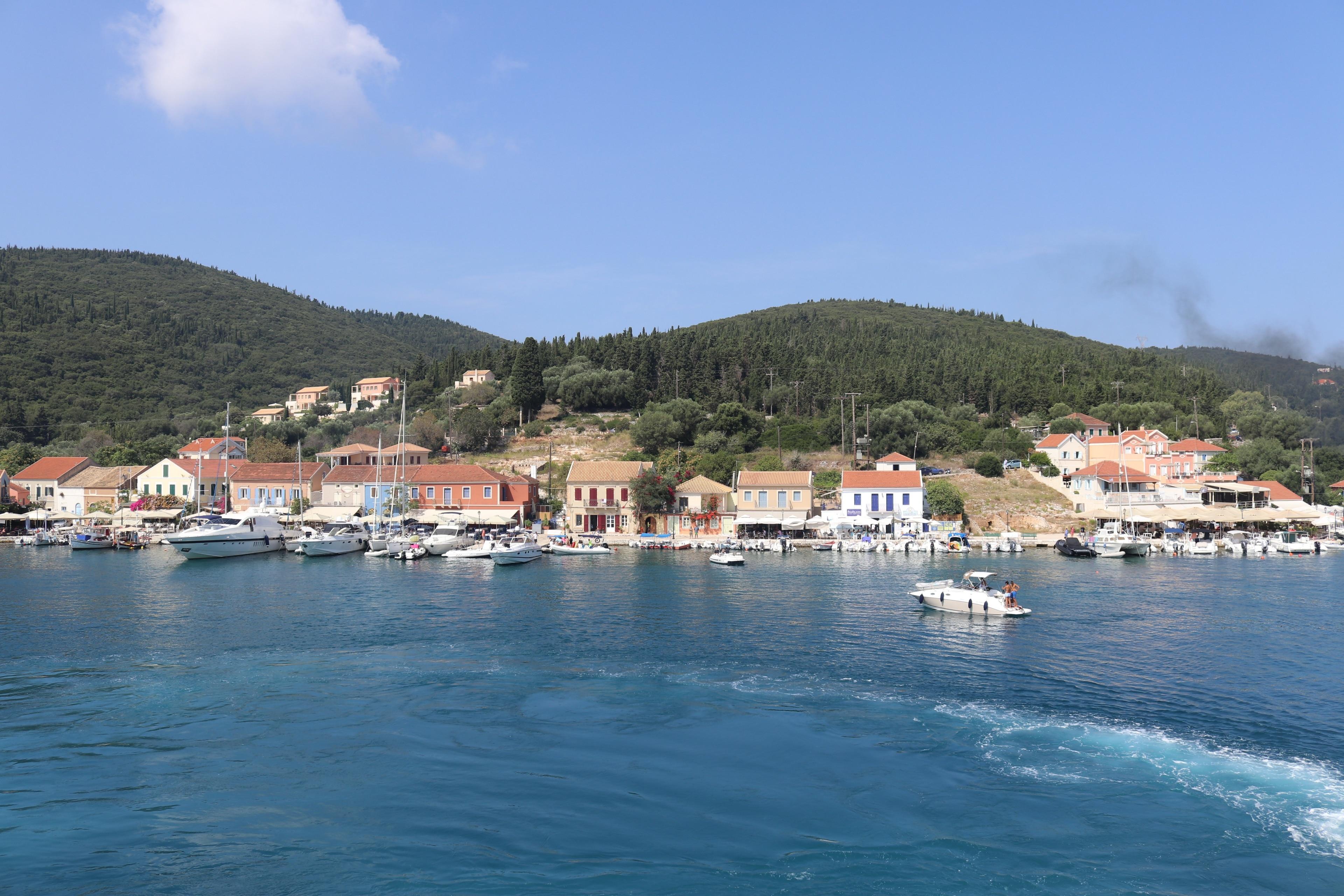 Fiskardo, Kefalonia, Regio van de Ionische Eilanden, Griekenland
