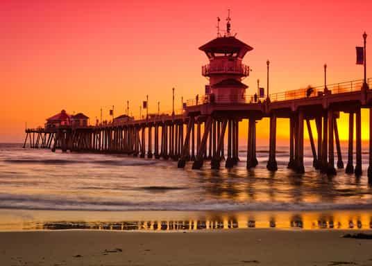 Huntington Beach, Kalifornien, USA