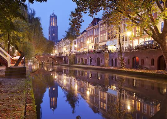 Stadtzentrum von Utrecht, Niederlande