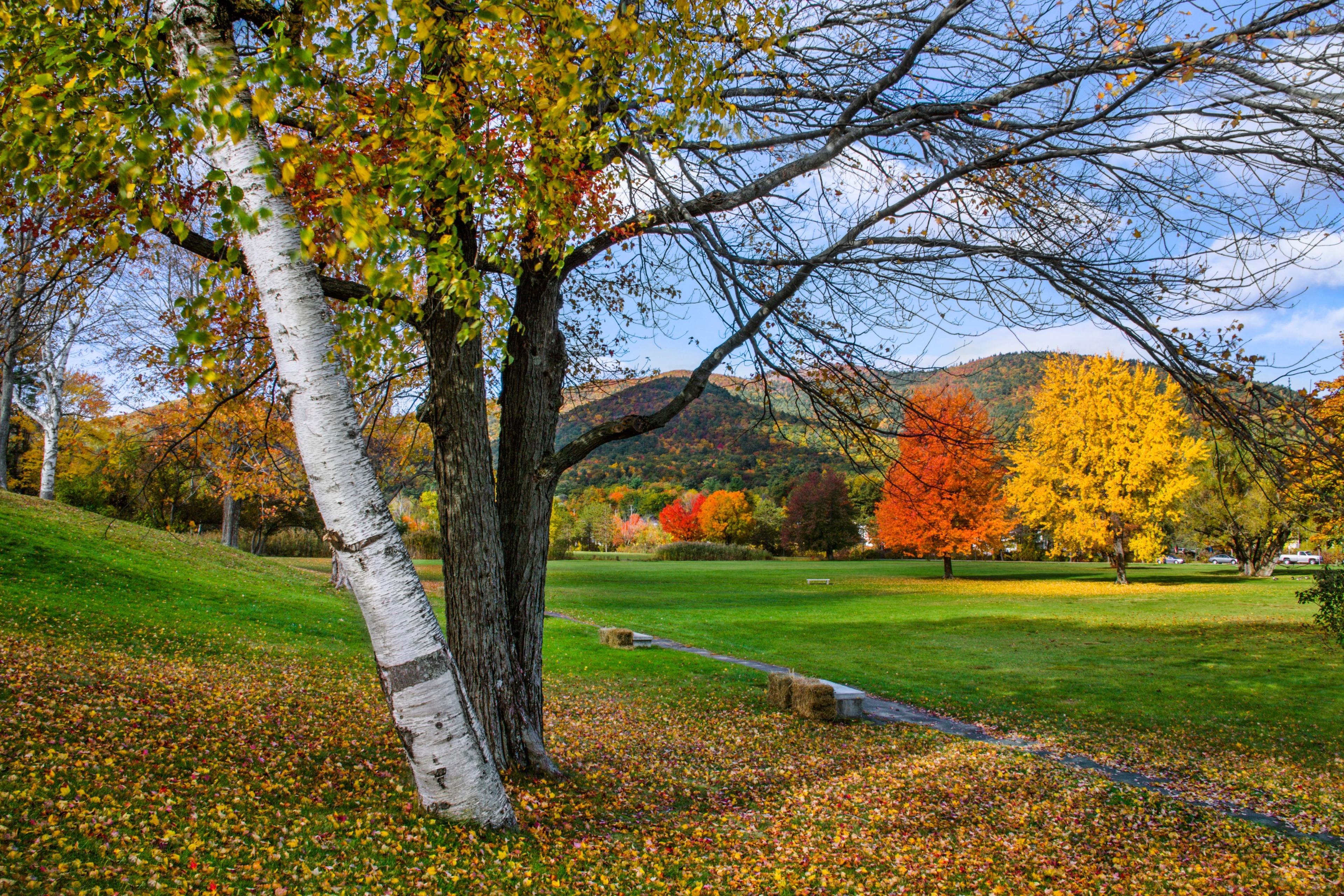Lake George Battlefield Park, Lake George, New York, USA