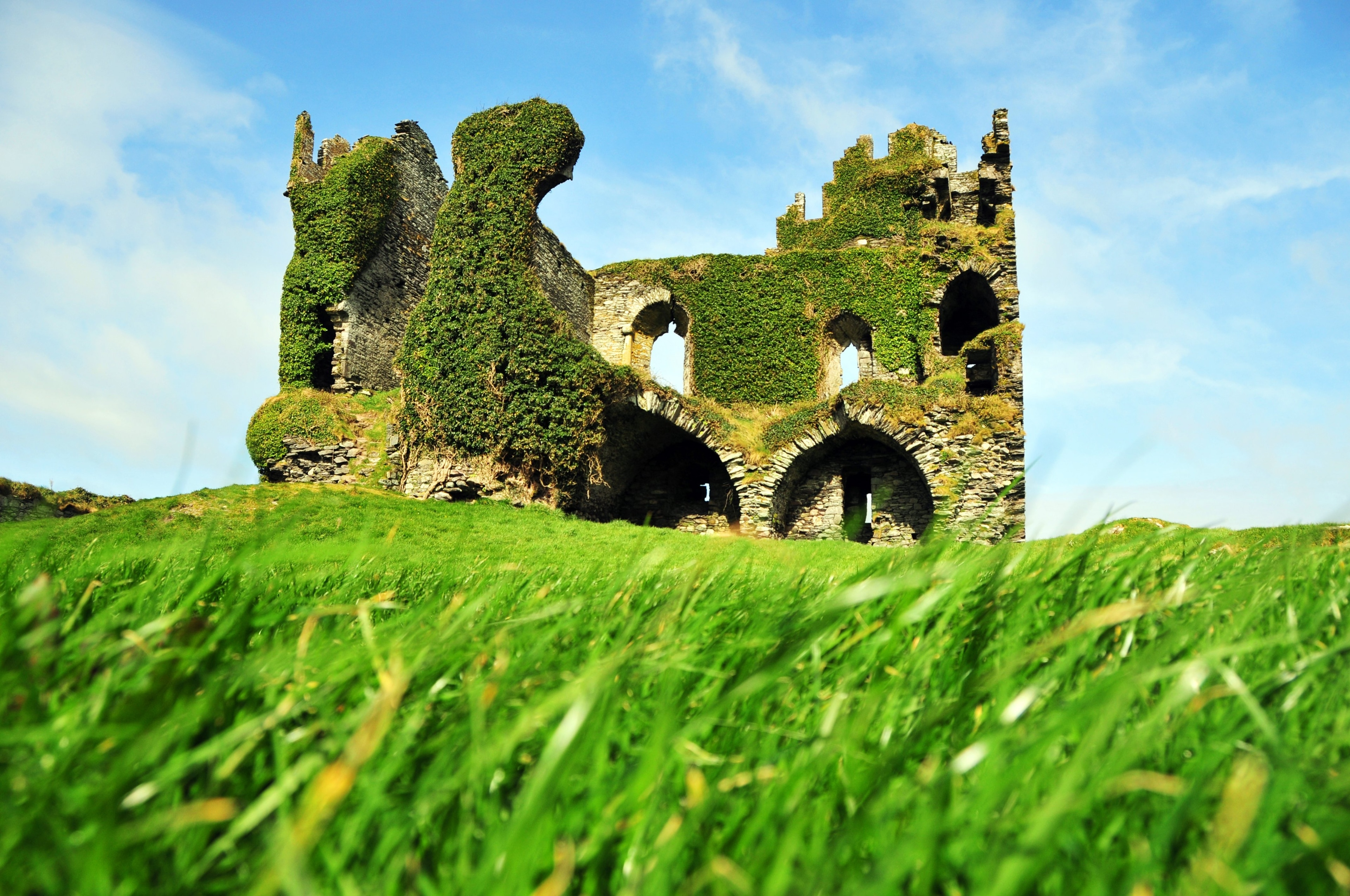 Ballycarbery Castle, Cahirciveen, County Kerry, Ireland