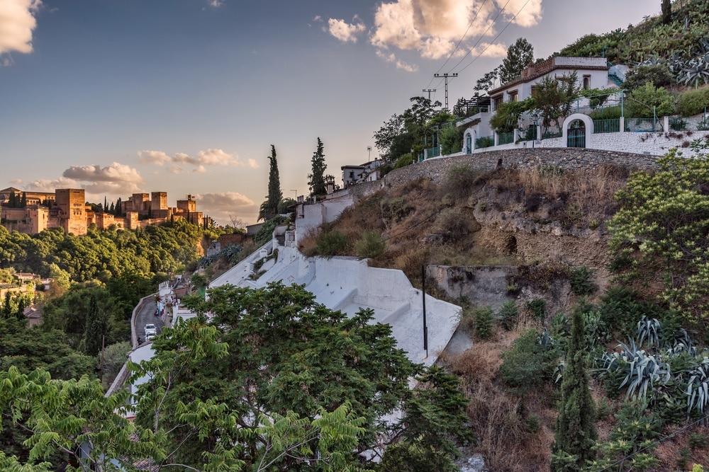 Sacromonte, Granada, Andalusien, Spanien