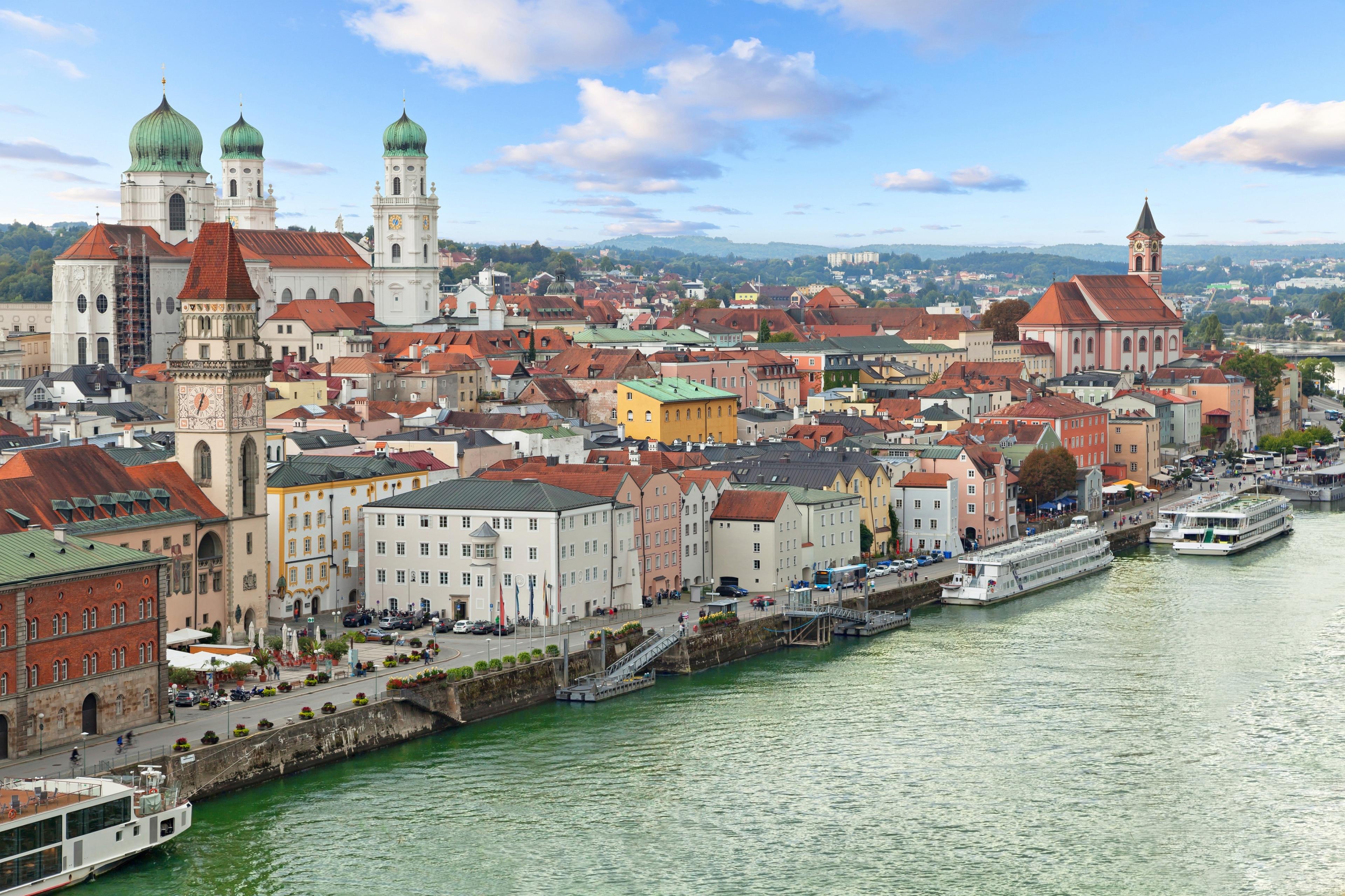 Passau, Nedre Bayern, Bayern, Tyskland