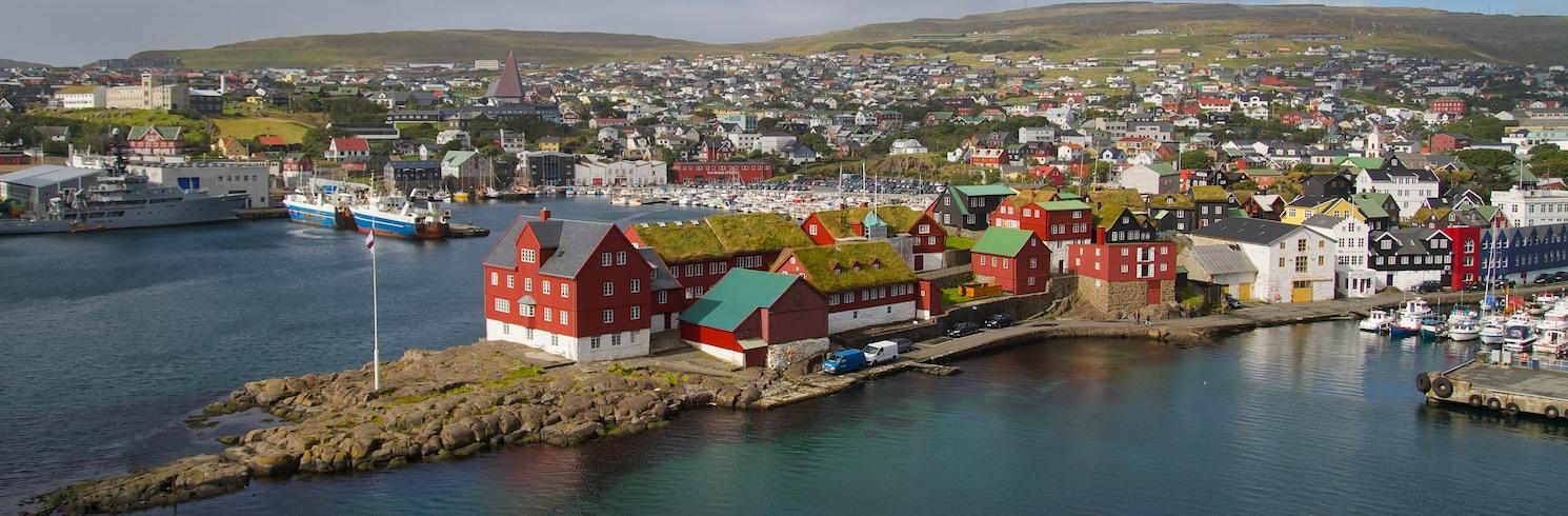 Torshavn, Pulau Faroe