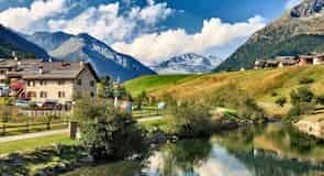Ośrodek Narciarski w Valtellina