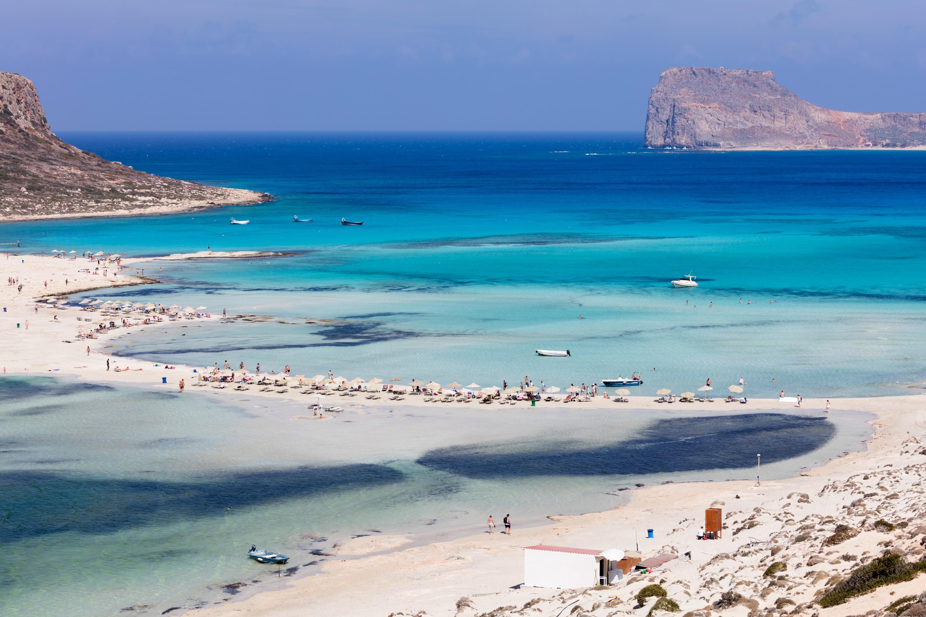 Balos Beach, Kissamos, Crete, Greece