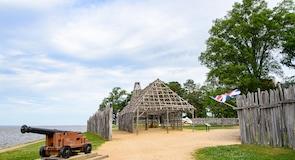Историческая памятка Historic Jamestowne